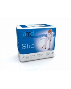 AMD Slip T3 Diapers Normal (L) Blue