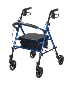 Drive Adjustable Seat Height 4 Wheel Walker