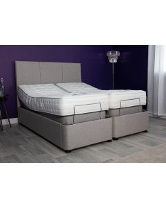 Wall Hugger Dual Electric Adjustable Bed